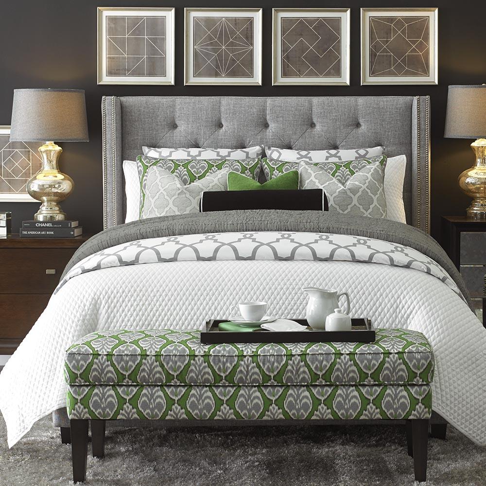 Bassett Furniture Wing Bed