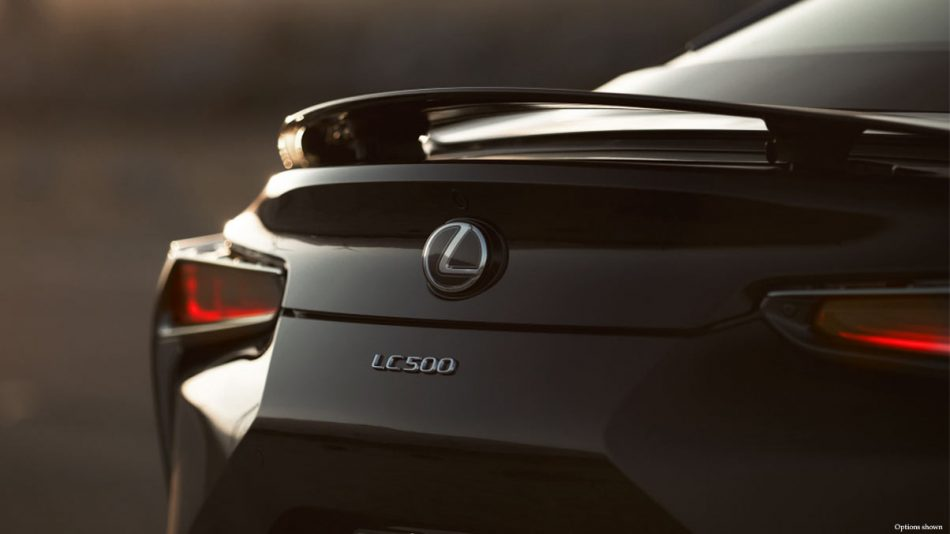 Lexus LC 500 luxury coupe