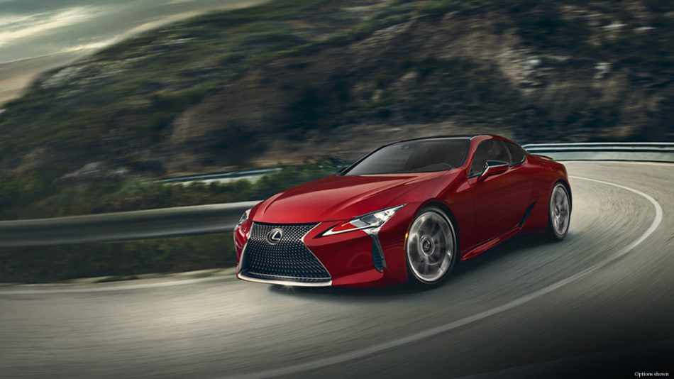 LC 500h luxury coupe