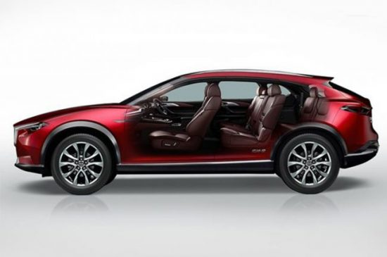 Newest Car - Mazda CX-8 Crossover SUV - 2018 new-generation model