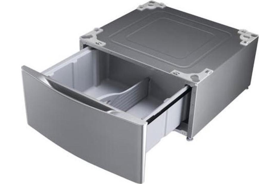 LG dryer pedestal storage