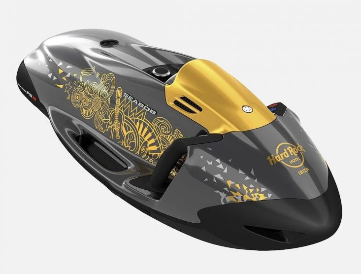 Underwater Electrical Scooter Seabob F5 SR