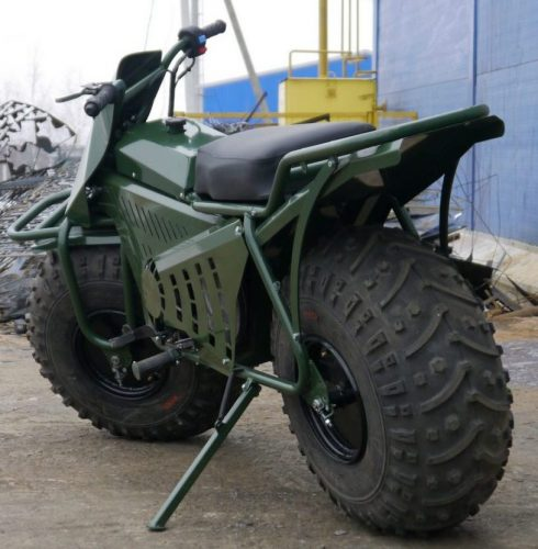 موتورسیکلت جدید 2×2 دوچرخ محرک