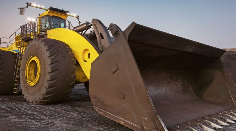 Wheel loader, L-2350, surface