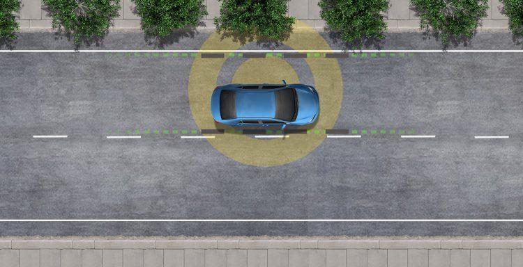 هشدار خروج از خط با کمک فرمان تحت شرایط خاص، خط هوایی خروج خط (LDA) برای تشخیص خروج خط در جاده ها با نشانه های روشن طراحی شده است. LDA تنها زمانی فعال می شود که شما با سرعت 32 مایل در ساعت یا سریعتر سفر می کنید. هنگامی که شما هشدار را می شنوید و می بینید، پس از دقت بررسی جاده اطراف خود، باید با رانندگی به سمت مرکز خط خود برگردید.