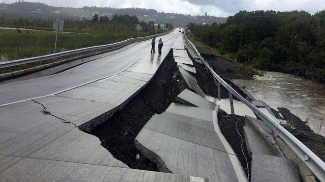 مخاطرات طبیعی, زلزله, سونامی, خسارات