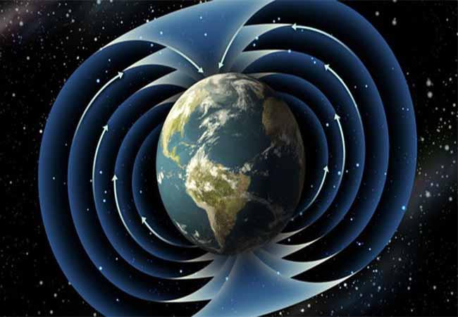 میدان مغناطیسی زمین ، مخاطرات طبیعی، زلزله، سونامی