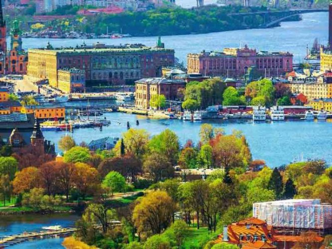 شهر زیبای استکهلم