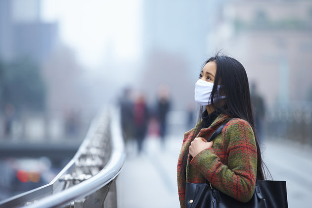 آلودگی هوا, سرطان دهان, سرطان