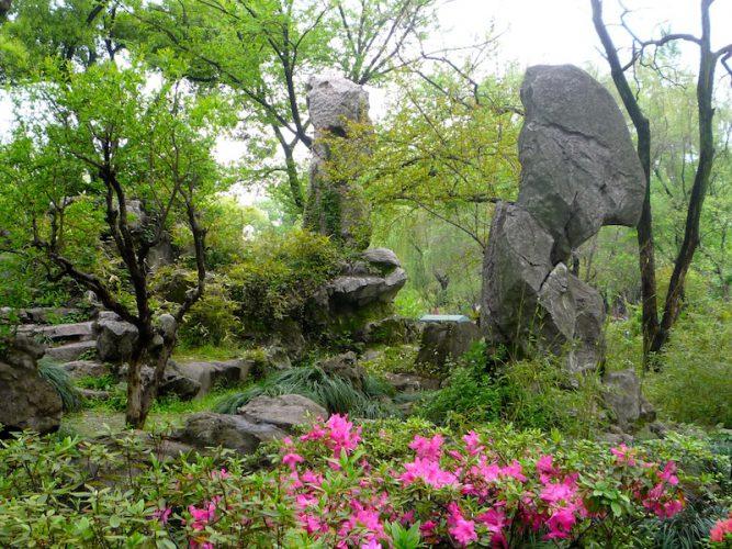 یک نوع از باغهای افسانهای در چین