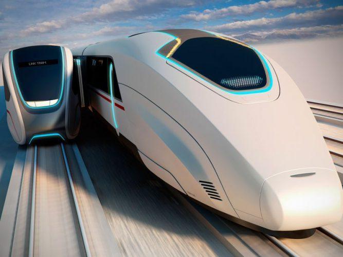 شکل 1. قطار پرسرعت ماگلو ژاپن