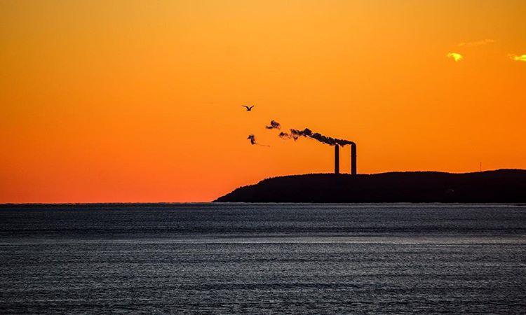عکاسی از غروب آفتاب و دریا