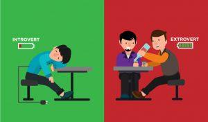 درونگرایی و برونگرایی