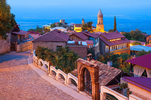 بافت قدیم تفلیس گرجستان