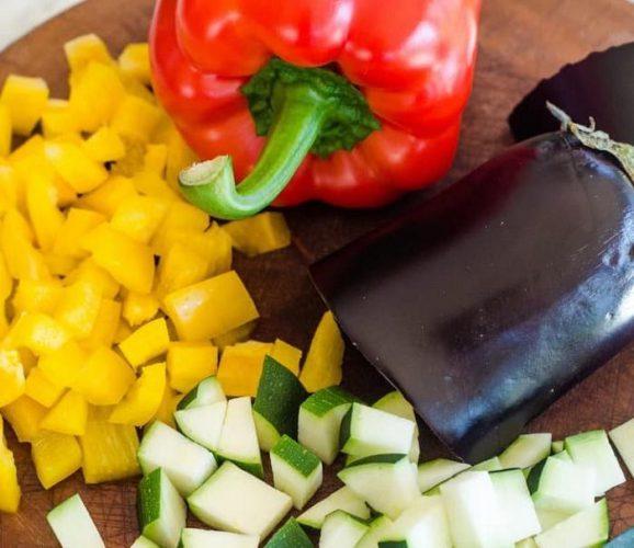 انواع سبزیجات برای تفت دادن