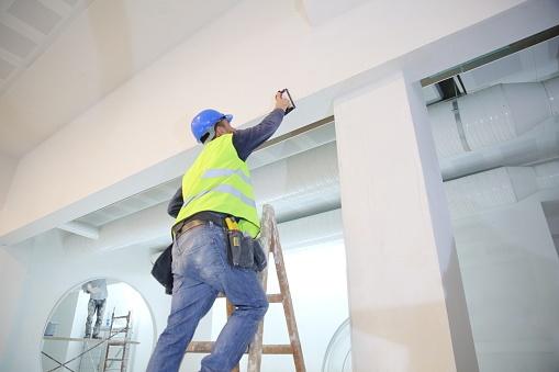 روش های رنگ آمیزی سقف